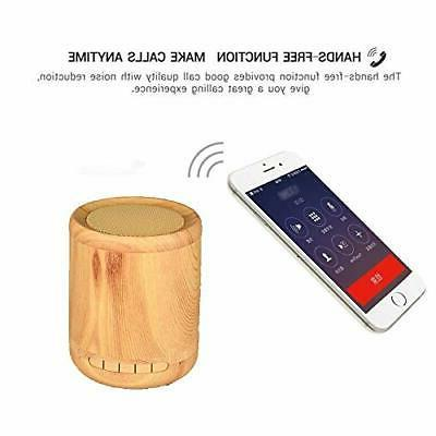 Wireless Bluetooth Wooden Portable Touch
