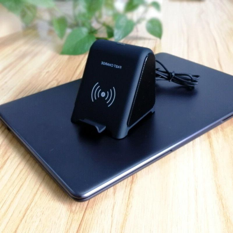 Wireless charging Stand with Bluetooth Speaker