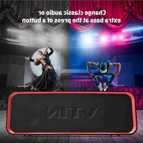 Vtin Portable Speaker Extra Bass Classic IPX7