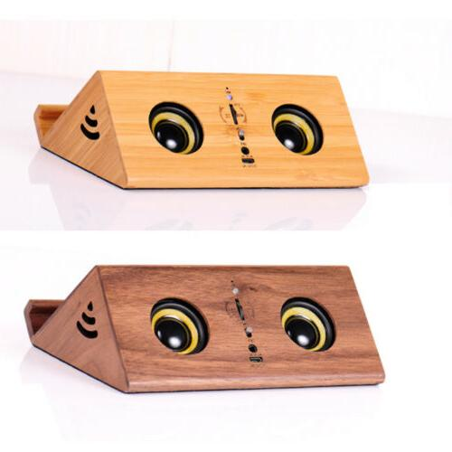 Wood Speaker Wireless Speaker USB P6U7R