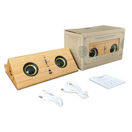Wood Wireless Bluetooth USB P6U7R