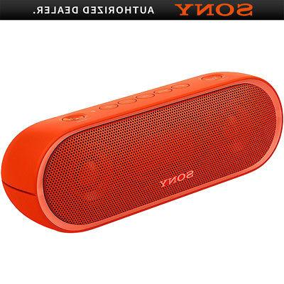 xb20 portable wireless speaker with bluetooth red