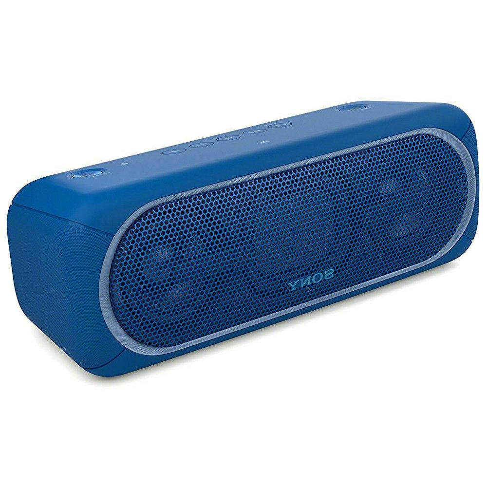 xb40 portable wireless speaker with bluetooth