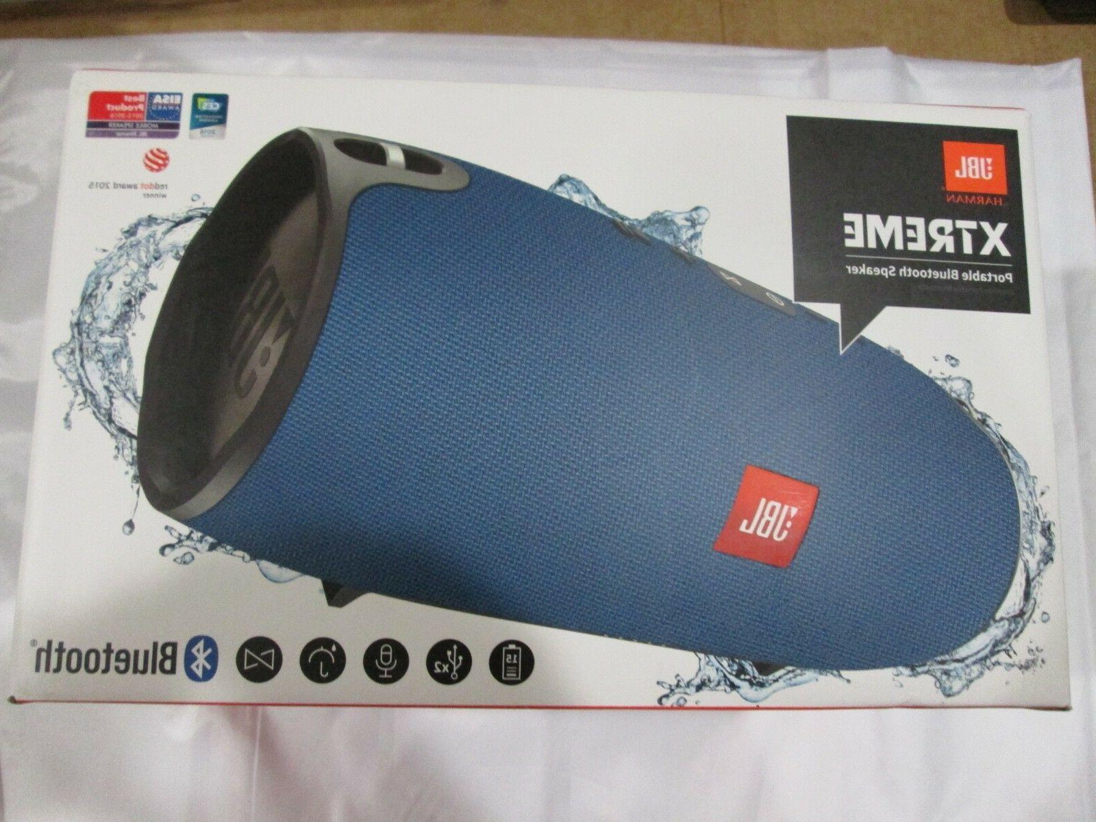 xtreme portable wireless bluetooth speaker blue new