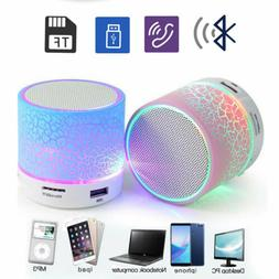 led portable mini bluetooth speaker wireless bass