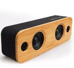 AOMAIS LIFE 30W Bluetooth Speakers, Classic Bamboo Audio Wir