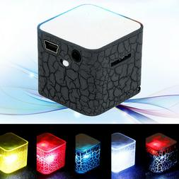 Luminous Lights Rechargeable Wireless Portable Bluetooth Spe