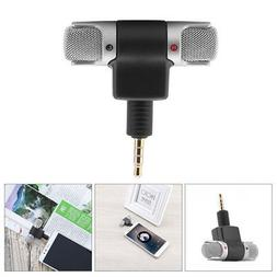 Mini Digital Stereo Microphone Audio Voice Recorder for 3.5m