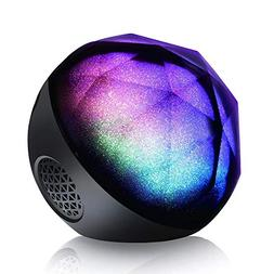 Bluetooth Speakers, VersionTECH. Mini Portable LED Colorful