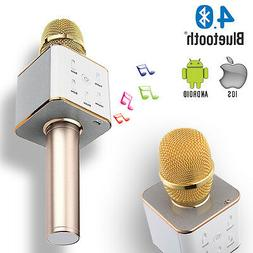 Indigi MQ7 Portable Wireless BT 4.0 Microphone + Speaker Sou