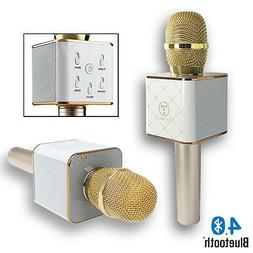 mq7 wireless karaoke bluetooth microphone speakers