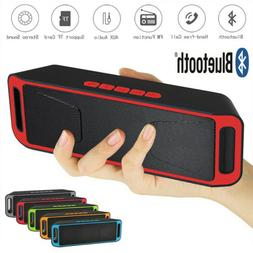 New Bluetooth Wireless FM Stereo Speaker For Smart Phone Tab