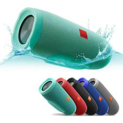 new charge 3 waterproof bluetooth speaker portable