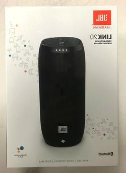 NEW JBL Link 20 Smart Bluetooth Voice Activated Portable Wir