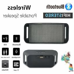 New Wireless Portable Bluetooth FM Stereo Speaker For Smart