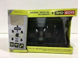 Ryobi ONE+ Score Wireless Speaker Set with SKAA Technology N