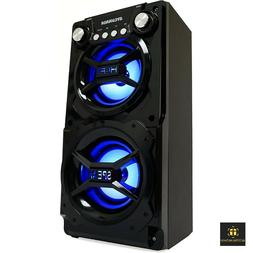 party speaker system bluetooth big led portable