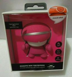 "PINK XOOPAR BOY MINI WIRELESS SPEAKER 3"" WITH SELFIE REMOTE"
