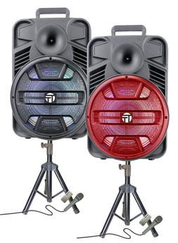 "Portable 3000 Watts Peak Power 12"" Speaker -KIK12 WITH STA"
