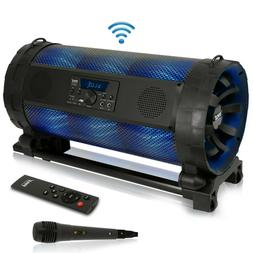 Portable Bluetooth Boombox Stereo System - 600 W Digital Out
