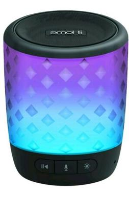 Portable Bluetooth Speaker Voice Command Color Changing Wire