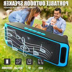 Portable Loud Stereo Sound Wireless Bluetooth Speaker For iP