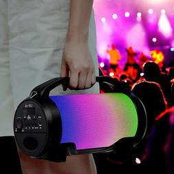 Portable Super Bass Loud LED Wireless bluetooth Speaker Outd