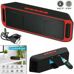 Outdoor Portable Wireless Bluetooth Speaker Stereo USB/TF/FM