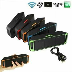 Portable Wireless Bluetooth Speaker Recharegable Outdoor USB