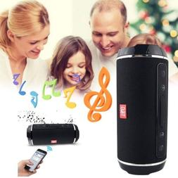 Portable Wireless Bluetooth Speaker Stereo Music Box AUX SD