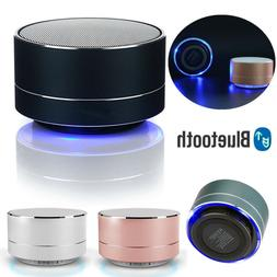portable wireless bluetooth stereo mini speaker bass