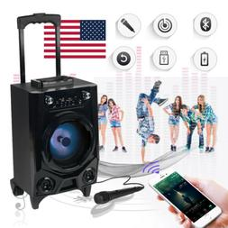 Portable Wireless Bluetooth Tailgate Speaker With LED Flashi
