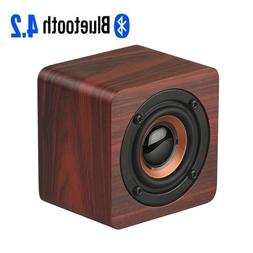Portable Wooden Wireless Bluetooth Speaker Mini Loudspeaker