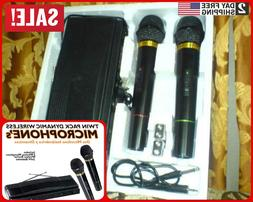 Professional Wireless Dynamic Microphone set of 2 for Karaok