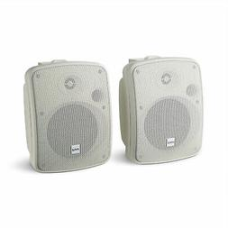 """Pyle PDWR54BTW Bluetooth 600W Waterproof 5.25"""" Powered Outdo"""