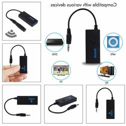 Receiver Adapter Bluetooth Audio Music 3 5mm Wireless Stereo
