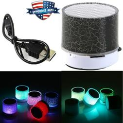 rechargeable luminous light wireless bluetooth speaker porta