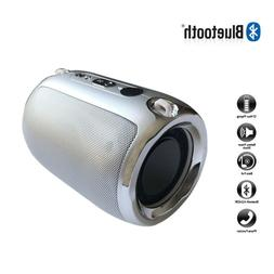 Rechargeable Mini Speaker Wireless Portable Boomboxes Metal
