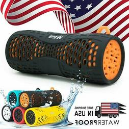 EMB Rechargeable Waterproof Bluetooth Speaker Outdoor Wirele