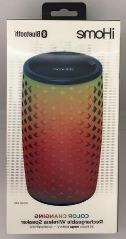 rechargeable wireless bluetooth speaker color changing ibt78