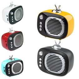 Zummy Retro Bluetooth Speaker Vintage Wireless Speaker with
