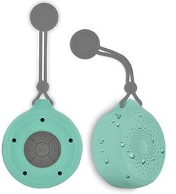 Aduro Shower Speaker AquaSound Waterproof Speakers, Wireless