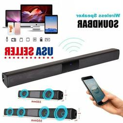 Sound Bar Wireless V4.2 Bluetooth Speaker TV Home Theater So