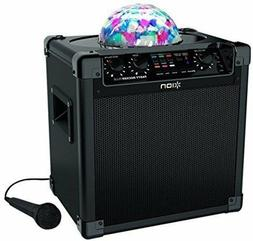 ION Speaker Bluetooth Wireless Party Rocker With Mic And Cab