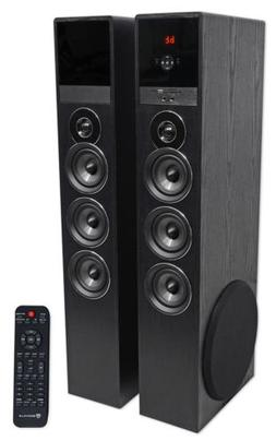 Tower Speaker Home Theater System w/Sub For Samsung Q7C Tele
