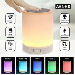 warm light color changing wireless bluetooth speaker