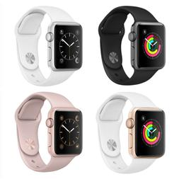 Apple Watch Series 2 42mm Aluminum Case Space Gray Silver Go
