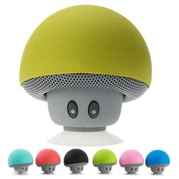 Waterproof Wireless Mini Bluetooth Mushroom Portable Stereo