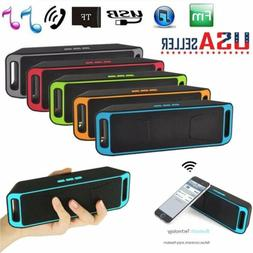 Wireless Bluetooth 3.0 Speaker USB Flash FM Radio Stereo Sup