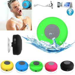 wireless bluetooth handsfree waterproof mic suction mini